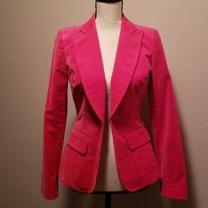 Kenneth Cole Pink Velvet Blazer